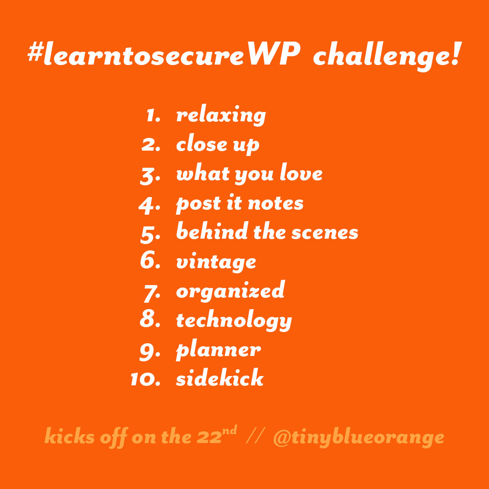 #learntosecureWP challenge